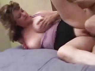 Busty Mature Wife Gets Her Protein From Her Bull