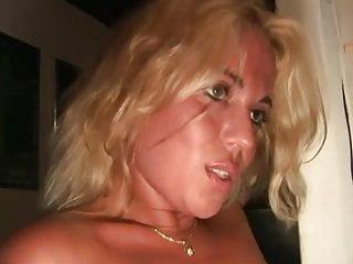 Dutch Blonde In A Dark Room