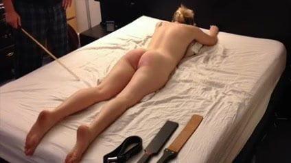 spanking paddle Amateur