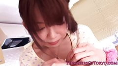 Nippon teen stimulated with five vibrators