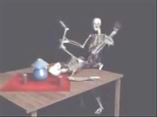 Funny Skeleton Sex