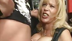 Busty German Blonde gives sexy BJ