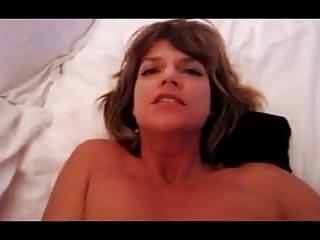 Milfy Mom cums hard from anal orgasm...