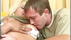 Blonde Mature Gives Her Young Lover Anal