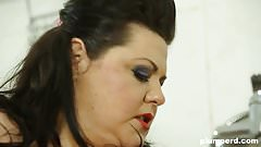 Plumperd.com BBW femdom threesome