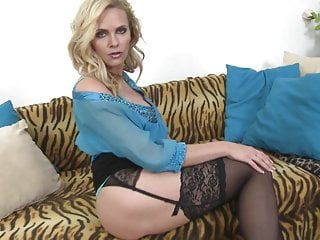 Lovely mature mother seduce lucky son