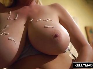 KELLY MADISON Titty Fuck and Handjob Cumshot