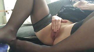 My slave in stockings