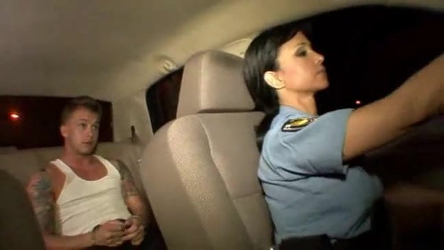 Real Woman Police Officer