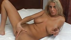 Splendid anal blonde solo