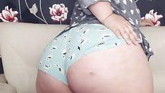 Bbw cougar big ass spanking