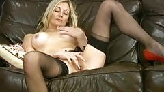 Very tasty milf alone