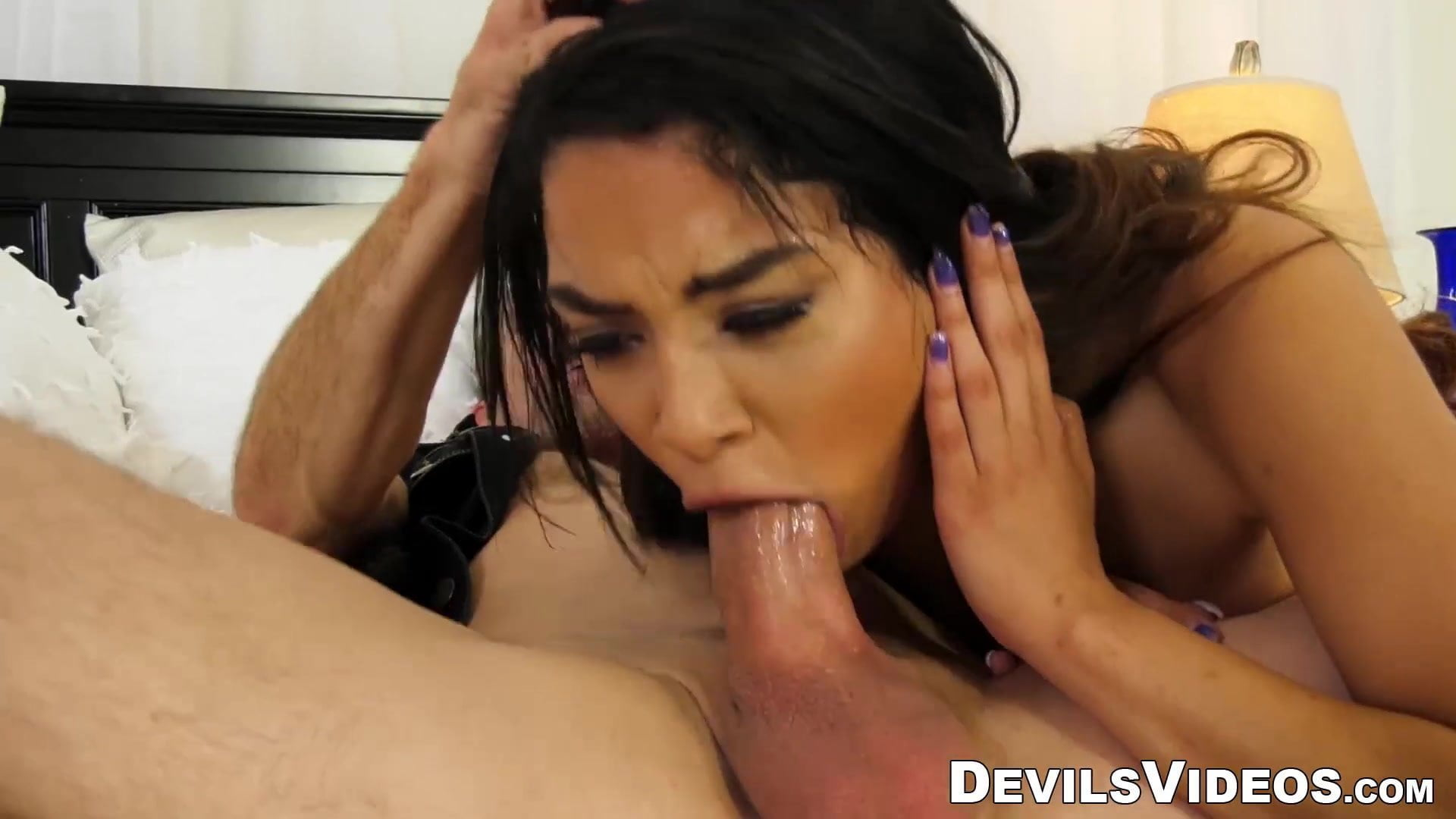 Cuckold hubby watches spouse get fucked in entrance of him