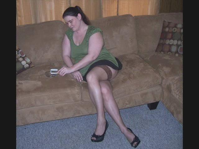 Leg show pantyhose stories