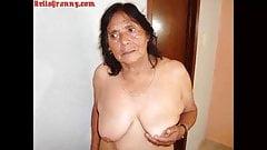 HelloGrannY Naked Latin Amateur Granny Stuff