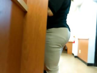 Firm Booty MILF VPL at DMV Part 2