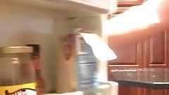 Str8 daddy open the refrigerator