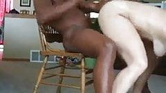 black guy fuck nice white milf