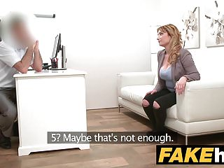Fake Agent Spanish babe with huge tits wants a good fucking