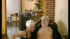 Short Haired Blonde - Old Man Quickie