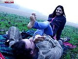 Lost In The Country - Outdoor Foot Licking
