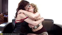 Taboo sex with old lesbians and beautiful girl