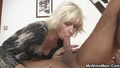 Great scandal after fucking mother in law