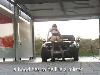 Public Car Wash Outdoor Strip Show