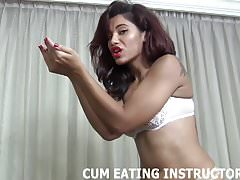 Eat your cum and dont miss a single drop CEI