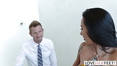 LoveHerFeet - Sneaky Cheating Foot Sex With The Realtor. 's Thumb
