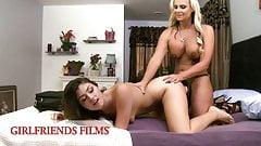 GirlfriendsFilms - Phoenix Marie Teaches Teen How To Do Anal
