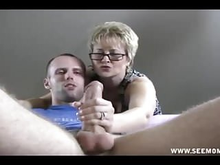 POV Guy Caught Up Stroking His Big Cock