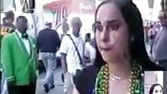 Crazy Public Facial - Tonya