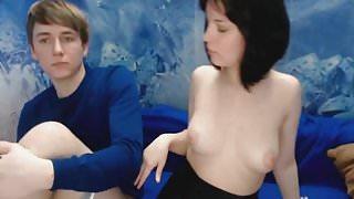 Amateur Russian Teen In A Hot Sex Show