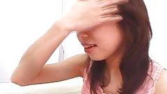 Japanese girl tongue play (4)