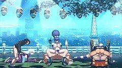 KOF XIII hentai K VS Kula