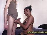 Kay Kush more standing handjob teasing