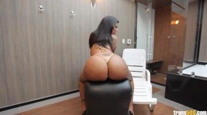Bruna Prado masturbates and shows off