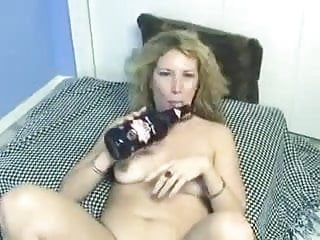 Amateur - Hot Blond Enthusiastic Self Bottling