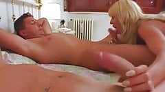 Hairy Italian Anal and Pissing Threesome