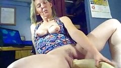 Mature huge toy