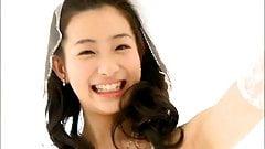 Rika Adachi - wedding outfit