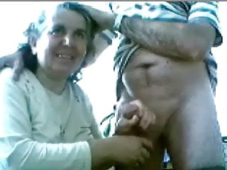 Watch old couple having fun on cam. Amateur