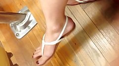 Candid College Student Sexy Feet Legs Toes