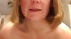 Stripping Mom on Webcam
