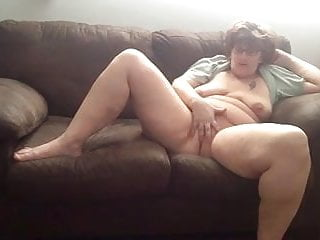 Wife fingering her soaked cunt part 2