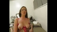 She likes her orgasms with her man
