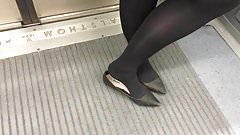 Shoe Fetish - A Bit of Shoeplay in Pointy Flats