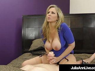 Femdom Mistress Ms Julia Ann Won T Allow Her Hubby To Cum