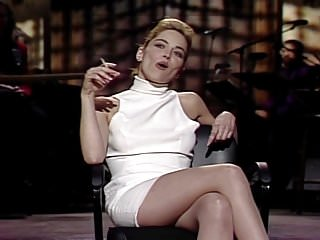 Snl butt strip commerical - Sharon stone - snl april 11, 1992